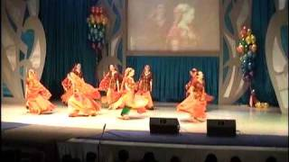 Dance No.14(Group-Manjari, Moscow) Holi Mela & 4 th All Russia Indian Dance Competition 2010