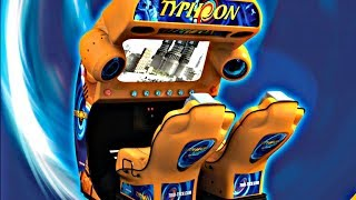 DINO Safar & Super Jets Typhoon  Arcade Game Mad Wave 3D Ride Simulator Motion Theater Deluxe