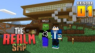 STARTING FRESH! RealmSMP Ep.1 Minecraft PE (Survival Let's Play)