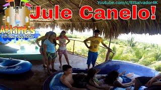 Jule Canelo! que comience el Dia de diversion en Atlantis Water Park. Parte 1