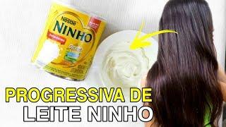 PROGRESSIVA DE LEITE NINHO CASEIRA - Alisa, Desmaia e Derrete o cabelo