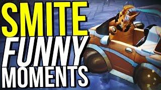 SMITE RACER RUMBLE IS SO BROKEN! - SMITE FUNNY MOMENTS