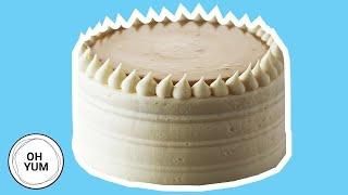 How to Bake the Classic Vanilla Birthday Cake with Caramel Pastry Cream