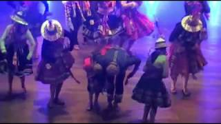 LUZMILA CARPIO - SU MÚSICA HECHA DANZA - ENF BOLIVIA