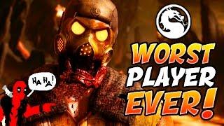 THE WORST PLAYER EVER!!! - Mortal Kombat XL Random Character Select (Mortal Kombat XL)