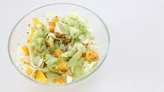 Insalata di Mango con semi di canapa, girasole, lino e chia