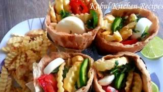 Easy Afghani Burger Recipe - Famous Kabul Street Food افغانی برگر