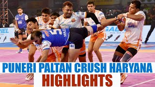 PKL 2017: Puneri Paltan thrash Haryana Steelers 37-25, Highlights   Oneindia News