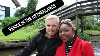 Venice in the Netherlands | Giethoorn boat trip | Jack & Jane | Vlog #1