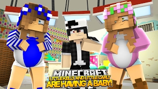 SISTERS ARE HAVING BABIES! Minecraft Royal Family | w/LittleKellyandLittleCarly (Roleplay)
