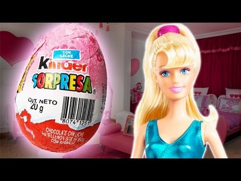 Barbie El Secreto de las Hadas Kinder Surprise Chocolate Egg Video Life in the Dreamhouse Movie