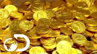How Chocolate Coins Are Made | How It