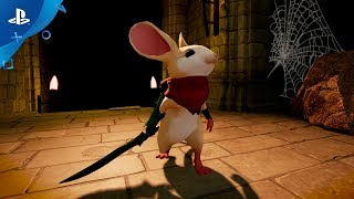 Moss - PlayStation VR Gameplay Announcement Trailer | E3 2017