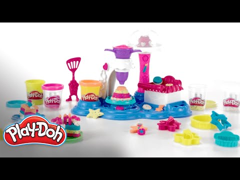 Play Doh | 'Cake Party Playset' Official Demo