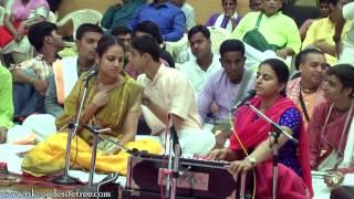 Rupa Manjari Mataji Singing Hare Krishna Maha Mantra Evening Session at Namotsava Kirtan Festival 20