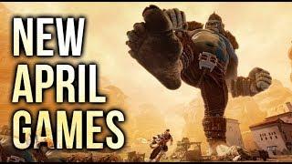 Top 10 NEW APRIL Games Of 2018