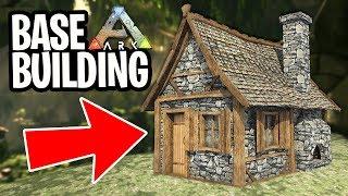 ARK: Survival Evolved - NEW BASE BUILDING!! (ARK Aberration)