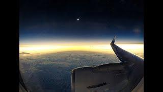 Alaska Airlines Great American Eclipse flight #9671
