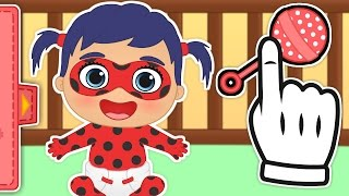 👶 BABY LADYBUG 👶 Gameplay with Ladybug and Cat Noir as Babies |  Baby Cartoons Gameplays