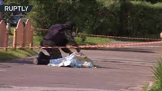 RAW: Knife attack in Russia, 7 injured, assailant killed by police