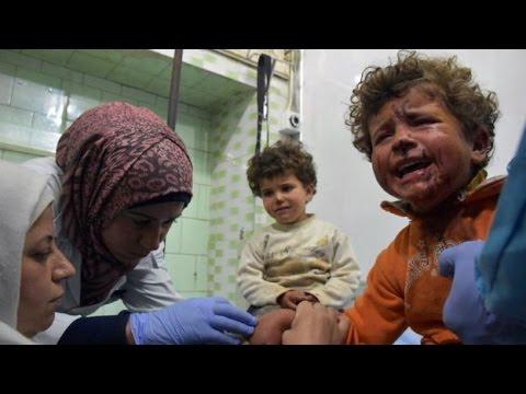 Syrían Rebels Blow Up 126 People Including 68 Kids