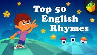 Top 50 Hit Songs | 50+ Mins | Popular Collection Of Animated English Nursery Rhymes in HD For Kids