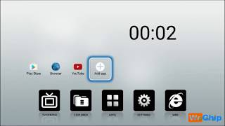 Android tv box basic setting include wifi connect , download app from google play store,