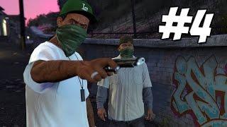 Grand Theft Auto 5 PC ► Gameplay Walkthrough Part 4 - Gang Bangin (GTA 5)