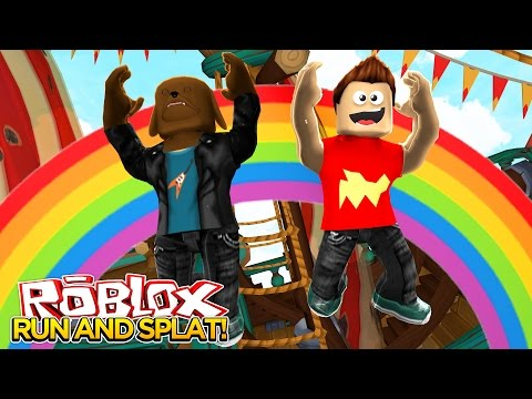 ROBLOX RUN AND SPLAT Little Baby Max Games And Gaming