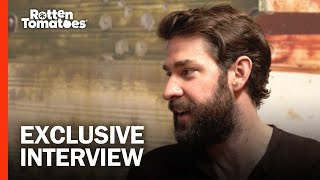 John Krasinski Was Blown Away by Emily Blunt in 'A Quiet Place' | Rotten Tomatoes @ SXSW 2018