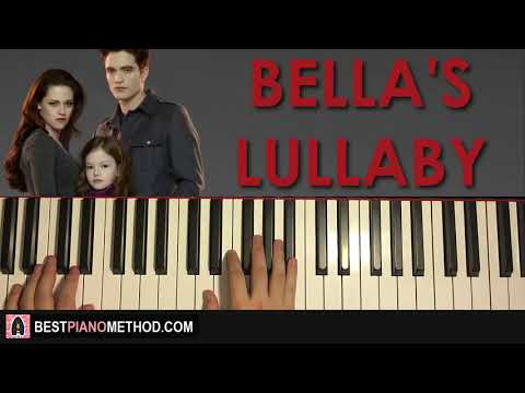 HOW TO PLAY - Twilight - Bella's Lullaby (Piano Tutorial Lesson)