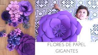 FLORES DE PAPEL GIGANTES / DIY | DECORANDO UNA BODA | Pabla en casa