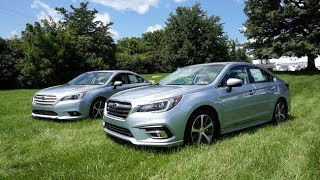 2018 Subaru Legacy 3.6R Limited Walkaround (with 2017 Differences)
