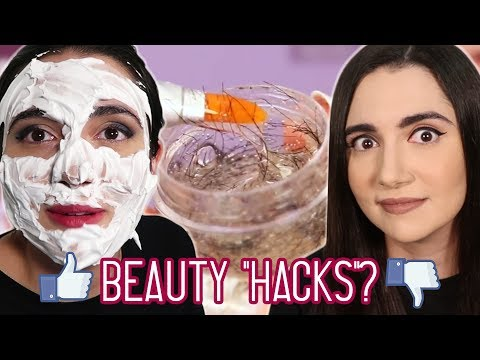 Xxx Mp4 Trying Clickbait Beauty Hacks From Facebook 3gp Sex