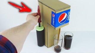 How to Make PEPSI Soda Fountain Machine Using the Pump for Balloon