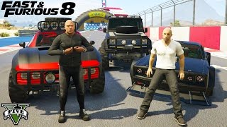 RAPIDOS Y FURIOSOS 8 EN GTA 5!! FAST & FURIOUS 8 GTA V GAMEPLAY
