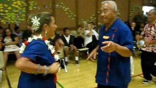 Fuimaono Family Reunion 2010: (day 5) family dance to the Samba