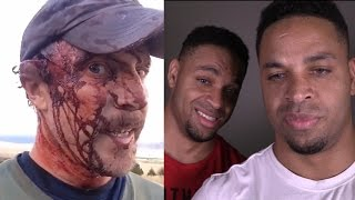 Bear Attack Reaction @Hodgetwins