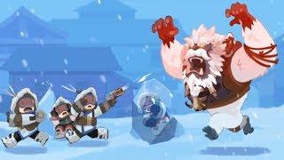 Yeti Game Mode!!! (Overwatch) Winter Wonderland