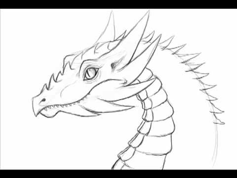 How to draw a dragon 10 minute fast doodle 1