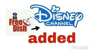 Watch Disney cartoon  channel now in dd free dish pe