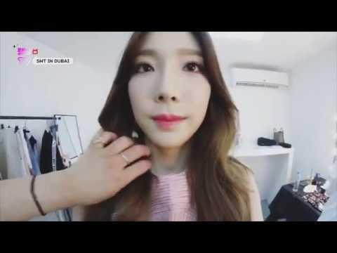 Taeyeon 태연 - Taengoo TV Smtown Dubai 180528 ENG SUB