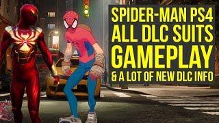 Spider Man DLC Suits GAMEPLAY, Update 1.11 & New DLC Info (Spiderman PS4 New Suit - Spider Man PS4)