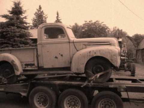 ford pick up 1942 et 19471 2ton et 1947 1ton