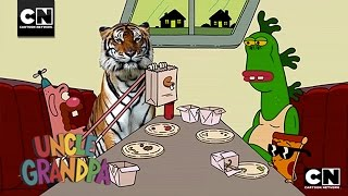 Chinese Food Delivery Day I Uncle Grandpa I Cartoon Network