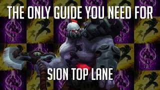 The Only Guide You Need For Sion Top Lane