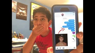 TEXTING JAKE PAUL!  *OMG HE RESPONDED*