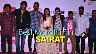 Best Marathi Film SAIRAT    Marathi Filmfare Awards