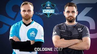 CS:GO - Cloud9 vs. SK [Cbble] Map 1 - Grand Final - ESL One Cologne 2017