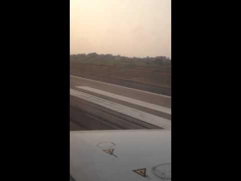 Take-off from Cotonou